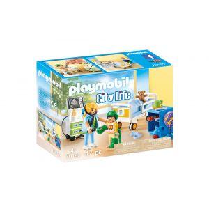 Playmobil 70192 - Chambre d'hôpital pour enfant City Life