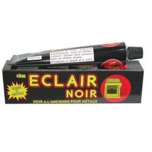 Liem Pâte noire à l'ancienne pour métaux Eclair noir n°8 (75 g)