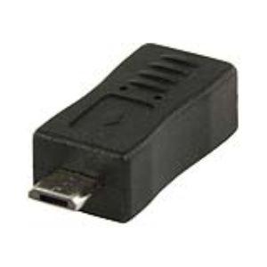 Valueline VLCP60904B - Adaptateur microUSB B femelle vers micro USB B mâle