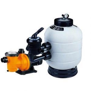 Groupe de filtration piscine : pompe Kalia + filtre Millenium 13 m3/h