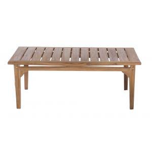 Lynco Table basse de jardin teck - Kayla