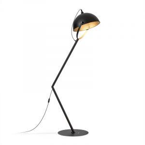 Blumfeldt Big Benny - Lampe arquée sur pied pour jardin ou terrasse - Ø 55 cm - Classe de protection IP23 E27 - 60W max. - Métal
