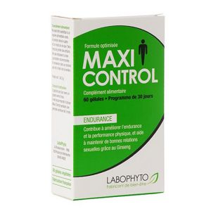 Labophyto MaxiControl For Men X (60 gélules)