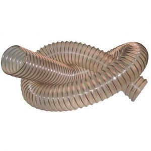 Diamwood 5 M de tuyau flexible d'aspiration bois D. 120 mm spire acier cuivré PU 0,4 mm - DW-257258016