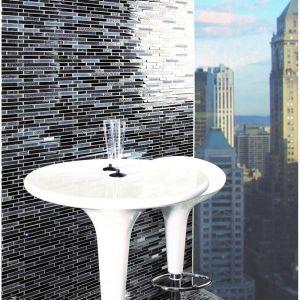 Mosaique Quartz Noir 30 x 30 cm