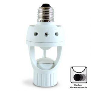 Provence Outillage Douille pour ampoule E27 avec détecteur de présence