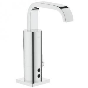 Robinetterie de lavabo Allure E électronique à infra-rouge alimentation 230 V avec transformateur