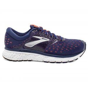 Brooks Glycerin 16, Chaussures de Running Femme, Bleu (Navy/Coral/White 494), 40 EU