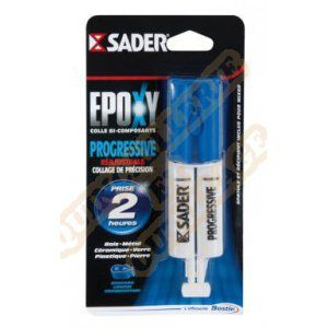 Sader Epoxy Colle bi-composants progressive 25ml