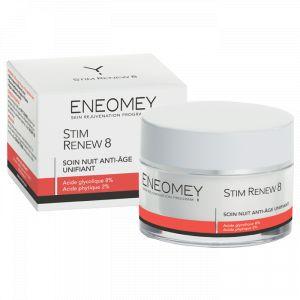 Eneomey Stim Renew 8 - Soin nuit anti-âge unifiant