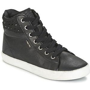 Geox Kiwi C, Sneakers Hautes Fille, Schwarz (BLACKC9999), 26 EU