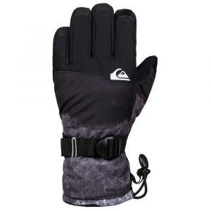 Quiksilver Gants Mission Youth - Black Matte Painting - Taille M