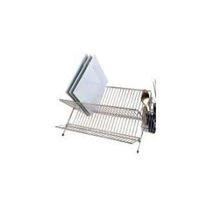 119 - Egouttoir à vaisselle pliable en acier (45 cm)