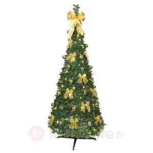 Best Season Pull Up Tree - Sapin de noël LED décoré (180 cm)