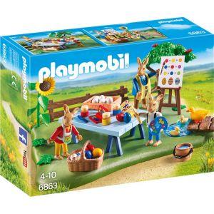 Playmobil 6863 - Atelier de lapin de Pâques