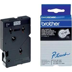Brother TC-101 - Ruban titreuse laminé largeur 12 x 7,7 mm