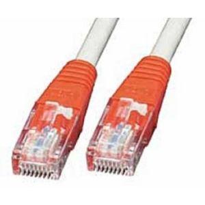 Lindy 44940 - Câble réseau Patch croisé Cat.6 UTP 0,3 m.