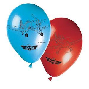 8 ballons Dusty et Ripslinger Planes (30 cm)
