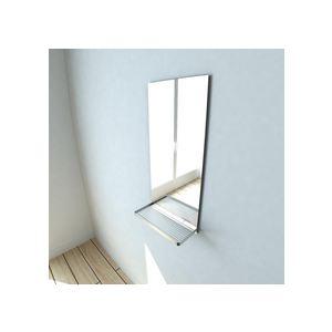 Miroir De Salle De Bain Dok Avec Tablette En Acier 28 X 60 Cm Comparer Avec Touslesprix Com