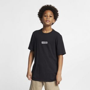 Nike Tee-shirt Hurley Premium One And Only Small Box pour Garçon - Noir - Taille L - Male