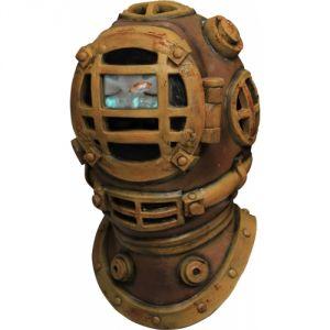 Masque intégral animé plongeur scaphandrier