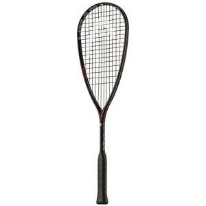 Head Graphene Touch Speed Raquette de squash avec cordage, 211057, noir/rouge