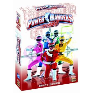 Coffret Power Rangers : Turbo - 4 DVD - Partie 2