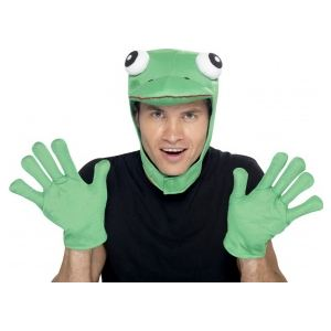 Kit grenouille cagoule et pattes