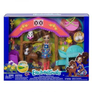 Mattel Enchantimals - La nurserie de la ferme