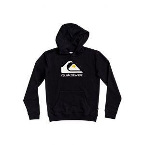 Quiksilver Sweat droit Omni Logo à capuche Noir