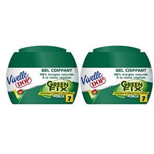 Vivelle Dop Green Fix - Gel coiffant à la résine végétale Force 7
