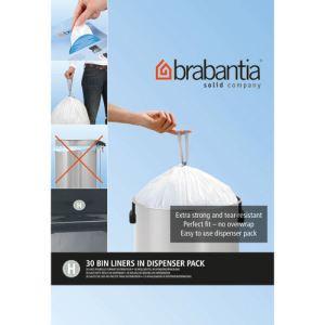 Brabantia 375705 - Distributeur 50 sacs de poubelle avec poignées coulissantes