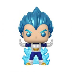 Funko Vegeta Powering Up / Dragon Ball Super / Figurine Pop / Exclusive Special Edition / Gitd
