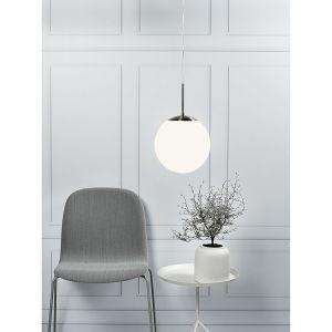 Nordlux 39583001 Lampe suspension Cafe 30 pour 1 ampoule 60 W E27 Blanc opale