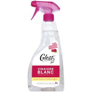 Gloss Vinaigre blanc en gel 750mL - parfum framboise - Nettoyant multi-usage - ORANGE