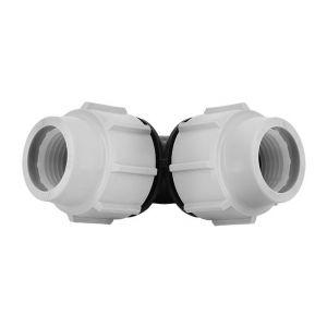 Plasson Coude 90° PE compression Ø40 de - Catégorie Raccord PE compression