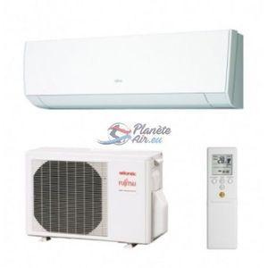 Fujitsu Climatiseur ASYG 14 LMCE + KIT POSE 3ML- 5000W A++