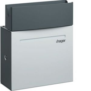 Hager Witty borne de charge IP21 4-7kW M3T2S pour 1 VE (XEV092)