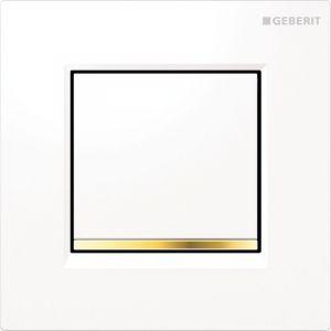 Geberit HyTouch Plaque de commande urinoir à déclenchement pneumatique du rinçage type 30 (116.017.KK.1)
