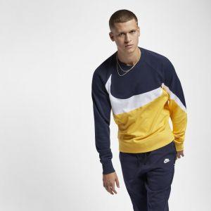 Nike Haut en molleton Sportswear pour Homme - Jaune - Couleur Jaune - Taille 2XL