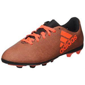 Adidas X 17.4 FxG, Chaussures de Football Mixte Enfant, Multicolore