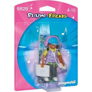 Playmobil 6828 - Adolescente avec ordinateur