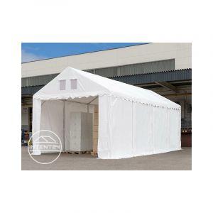 Intent24 Fr - 4x6m Tente de stockage, PVC env. 550 g/m², H. 2,6m