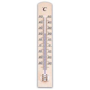 Metaltex Thermomètre d'intérieur en bois