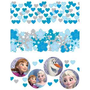 Confettis bleus La Reine des neiges