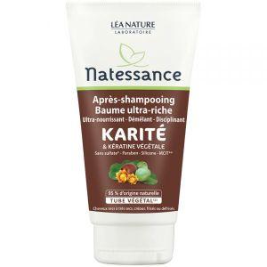 Natessance Après-shampooing Karite et Kératine végétale