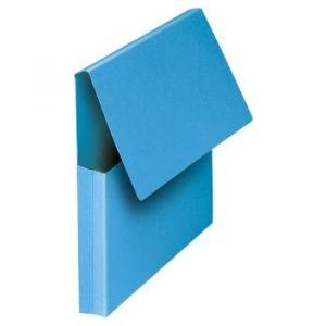 Fast 100725978 - Lot de 10 chemises poches VIP COLOR LINE, coloris bleu vif