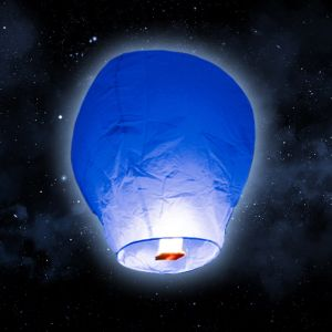 SkyLantern Lanterne volante bleue