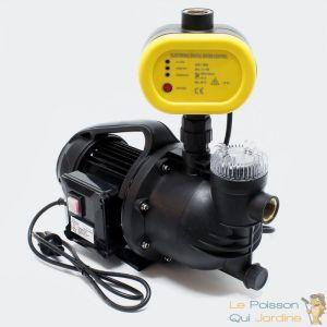 Image de Pompe à eau arrosage, drainage, puits 4600l/h + pressostat - AQUA OCCAZ