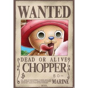 Poster Wanted Chopper (68 x 98 cm)
